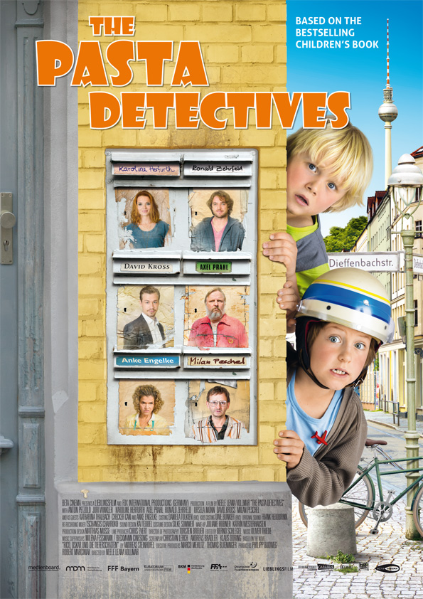 Poster PASTA DETECTIVES