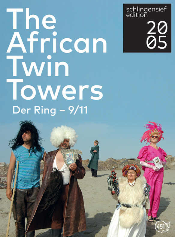 Poster THE AFRICAN TWINTOWERS