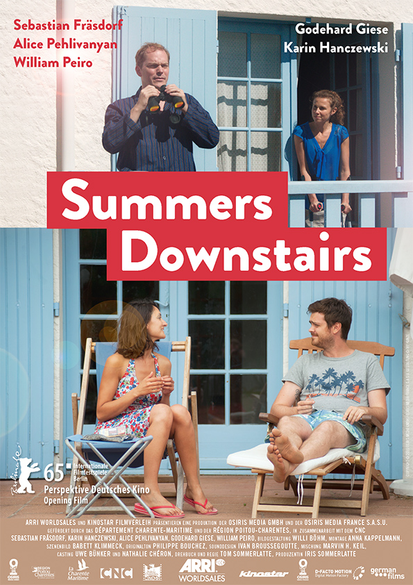 Poster SUMMERS DOWNSTAIRS