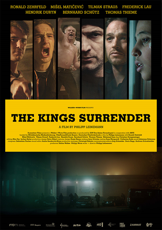 Poster THE KINGS SURRENDER
